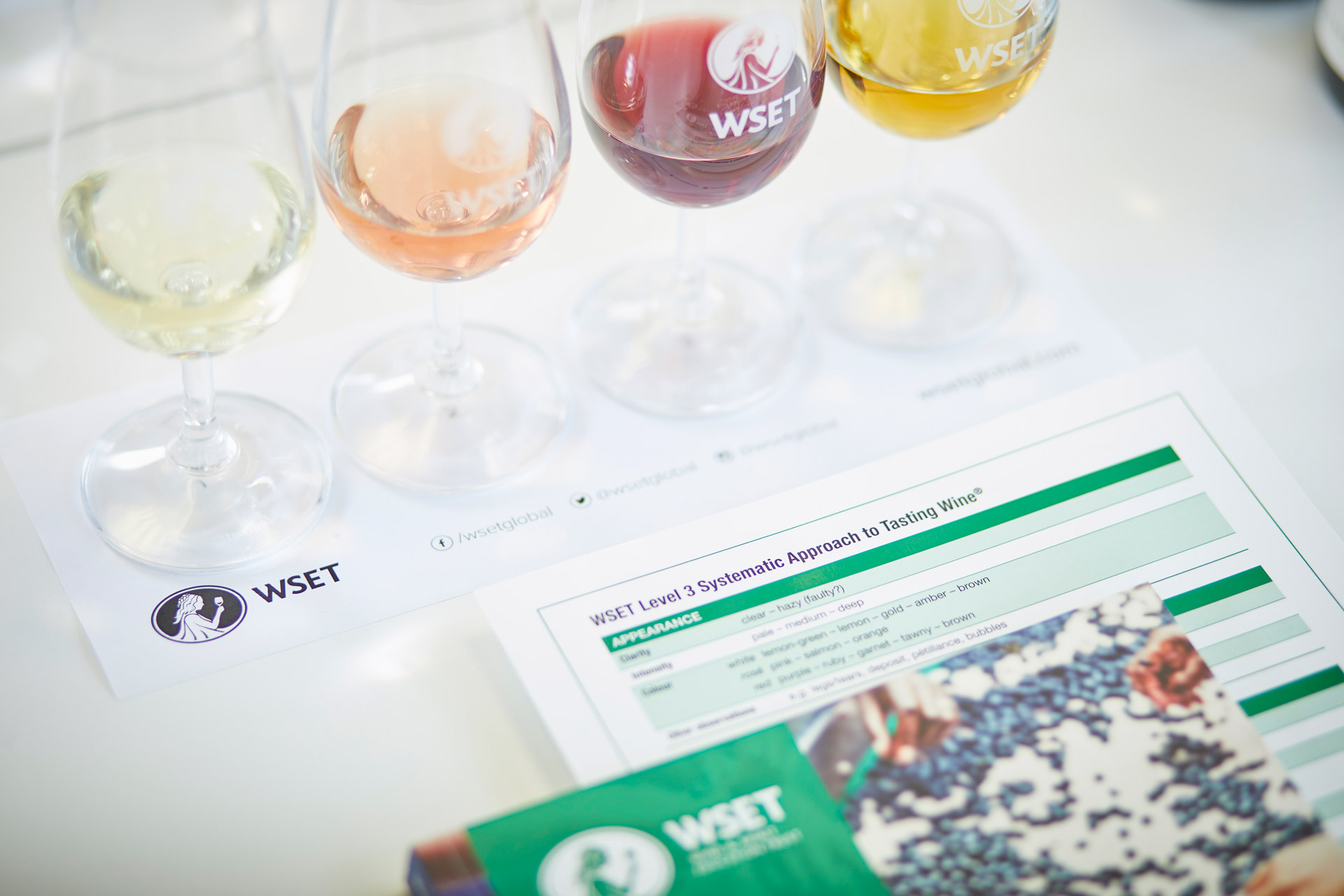 WSET Level 3 Wine tasting session
